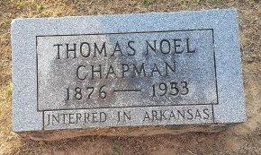 CHAPMAN, THOMAS NOEL - Union County, Kentucky | THOMAS NOEL CHAPMAN - Kentucky Gravestone Photos