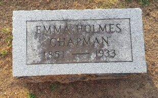 CHAPMANS, EMMA - Union County, Kentucky   EMMA CHAPMANS - Kentucky Gravestone Photos