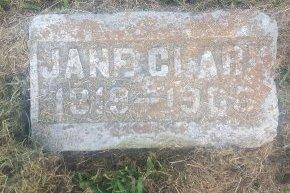CLARK, JANE - Union County, Kentucky | JANE CLARK - Kentucky Gravestone Photos