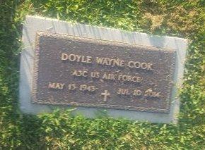 COOK (VETERAN), DOYLE WAYNE - Union County, Kentucky | DOYLE WAYNE COOK (VETERAN) - Kentucky Gravestone Photos