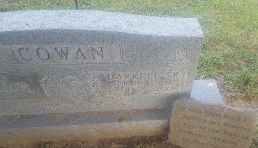 COWAN, DARRELL SR - Union County, Kentucky | DARRELL SR COWAN - Kentucky Gravestone Photos