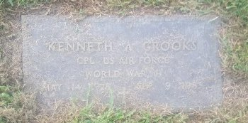 CROOKS (VETERAN WW2), KENNETH A - Union County, Kentucky | KENNETH A CROOKS (VETERAN WW2) - Kentucky Gravestone Photos