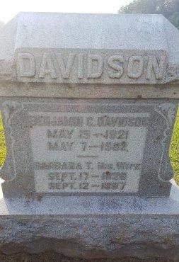 DAVIDSON, BENJAMIN C - Union County, Kentucky   BENJAMIN C DAVIDSON - Kentucky Gravestone Photos