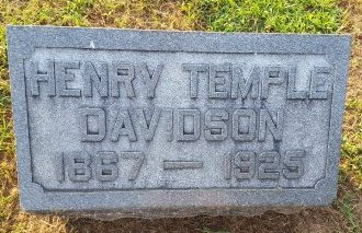 DAVIDSON, HENRY TEMPLE - Union County, Kentucky | HENRY TEMPLE DAVIDSON - Kentucky Gravestone Photos
