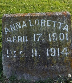 DRURY, ANNA LORETTA - Union County, Kentucky   ANNA LORETTA DRURY - Kentucky Gravestone Photos