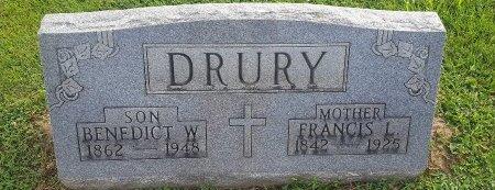 DRURY, BENEDICT W - Union County, Kentucky | BENEDICT W DRURY - Kentucky Gravestone Photos