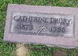 DRURY, CATHERINE - Union County, Kentucky | CATHERINE DRURY - Kentucky Gravestone Photos