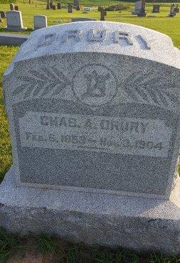 DRURY, CHARLES A - Union County, Kentucky | CHARLES A DRURY - Kentucky Gravestone Photos