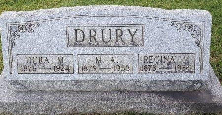DRURY, DORA M - Union County, Kentucky   DORA M DRURY - Kentucky Gravestone Photos