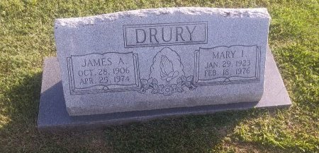 DRURY, JAMES A - Union County, Kentucky | JAMES A DRURY - Kentucky Gravestone Photos