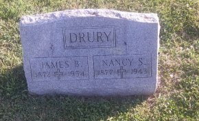 DRURY, JAMES B - Union County, Kentucky | JAMES B DRURY - Kentucky Gravestone Photos
