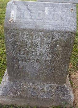 DRURY, M EDWIN - Union County, Kentucky   M EDWIN DRURY - Kentucky Gravestone Photos