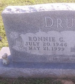 DRURY, RONNIE G - Union County, Kentucky | RONNIE G DRURY - Kentucky Gravestone Photos