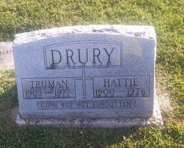 DRURY, TRUMAN - Union County, Kentucky   TRUMAN DRURY - Kentucky Gravestone Photos