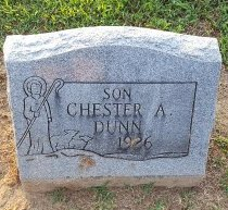 DUNN, CHESTER A - Union County, Kentucky | CHESTER A DUNN - Kentucky Gravestone Photos
