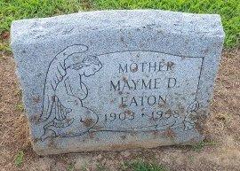EATON, MAYME D - Union County, Kentucky   MAYME D EATON - Kentucky Gravestone Photos
