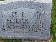 FENWICK, LEE L - Union County, Kentucky   LEE L FENWICK - Kentucky Gravestone Photos