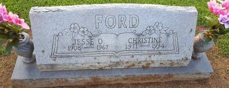 FORD, CHRISTINE - Union County, Kentucky | CHRISTINE FORD - Kentucky Gravestone Photos