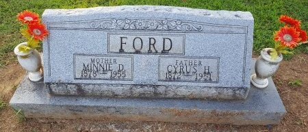 FORD, CYRUS H - Union County, Kentucky | CYRUS H FORD - Kentucky Gravestone Photos