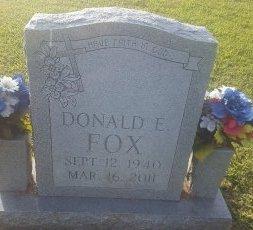 FOX, DONALD E - Union County, Kentucky   DONALD E FOX - Kentucky Gravestone Photos