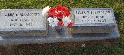 FREEBURGER, JANE A - Union County, Kentucky | JANE A FREEBURGER - Kentucky Gravestone Photos