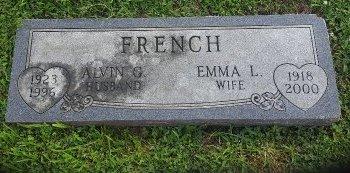 FRENCH, EMMA L - Union County, Kentucky   EMMA L FRENCH - Kentucky Gravestone Photos
