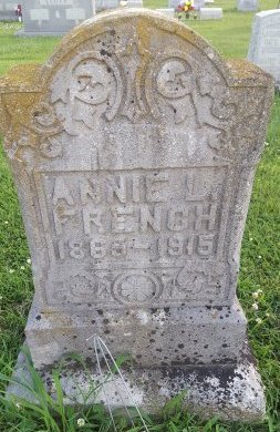 FRENCH, ANNIE L - Union County, Kentucky | ANNIE L FRENCH - Kentucky Gravestone Photos