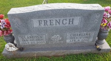 FRENCH, CLARENCE - Union County, Kentucky | CLARENCE FRENCH - Kentucky Gravestone Photos
