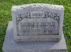 FRENCH, GEORGE - Union County, Kentucky | GEORGE FRENCH - Kentucky Gravestone Photos