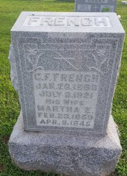 FRENCH, MARTHA - Union County, Kentucky   MARTHA FRENCH - Kentucky Gravestone Photos