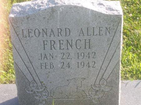FRENCH, LEONARD ALLEN - Union County, Kentucky   LEONARD ALLEN FRENCH - Kentucky Gravestone Photos