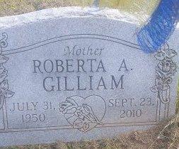 GILLIAM, ROBERTA A - Union County, Kentucky | ROBERTA A GILLIAM - Kentucky Gravestone Photos