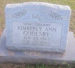 GOOLSBY, KIMBERLY ANN - Union County, Kentucky | KIMBERLY ANN GOOLSBY - Kentucky Gravestone Photos