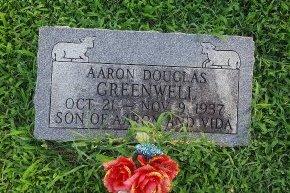 GREENWELL, AARON DOUGLAS - Union County, Kentucky   AARON DOUGLAS GREENWELL - Kentucky Gravestone Photos