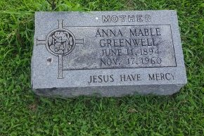 GREENWELL, ANNA MABEL - Union County, Kentucky | ANNA MABEL GREENWELL - Kentucky Gravestone Photos