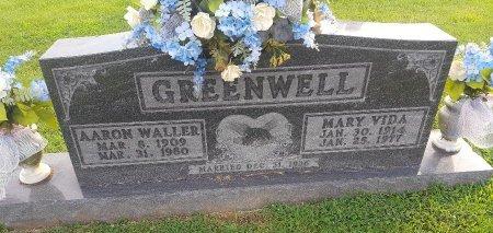 GREENWELL, MARY VIDA - Union County, Kentucky   MARY VIDA GREENWELL - Kentucky Gravestone Photos
