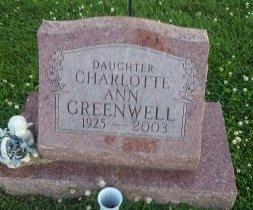 GREENWELL, CHARLOTTE ANN - Union County, Kentucky   CHARLOTTE ANN GREENWELL - Kentucky Gravestone Photos