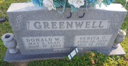 GREENWELL, VENITA C - Union County, Kentucky | VENITA C GREENWELL - Kentucky Gravestone Photos