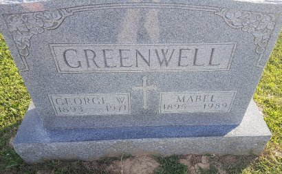 GREENWELL, MABEL - Union County, Kentucky | MABEL GREENWELL - Kentucky Gravestone Photos