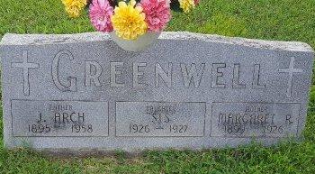 GREENWELL, J ARCH - Union County, Kentucky | J ARCH GREENWELL - Kentucky Gravestone Photos