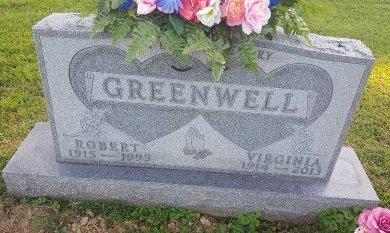 GREENWELL, VIRGINIA - Union County, Kentucky | VIRGINIA GREENWELL - Kentucky Gravestone Photos