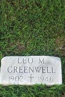 GREENWELL, LEO M - Union County, Kentucky   LEO M GREENWELL - Kentucky Gravestone Photos