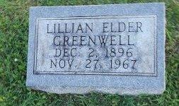 GREENWELL, LILLIAN - Union County, Kentucky | LILLIAN GREENWELL - Kentucky Gravestone Photos