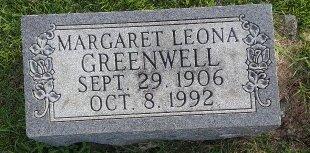 GREENWELL, MARGARET LEONA - Union County, Kentucky   MARGARET LEONA GREENWELL - Kentucky Gravestone Photos