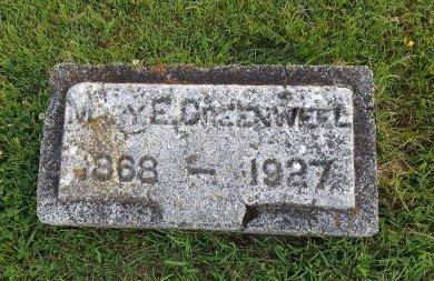 GREENWELL, MARY ELLEN - Union County, Kentucky | MARY ELLEN GREENWELL - Kentucky Gravestone Photos