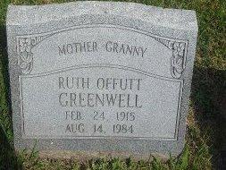 GREENWELL, RUTH - Union County, Kentucky | RUTH GREENWELL - Kentucky Gravestone Photos