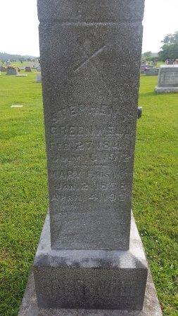 GREENWELL, MARY E - Union County, Kentucky | MARY E GREENWELL - Kentucky Gravestone Photos