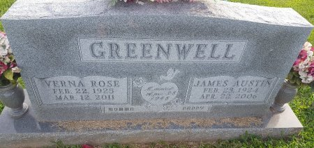 GREENWELL, VERNA ROSE - Union County, Kentucky | VERNA ROSE GREENWELL - Kentucky Gravestone Photos