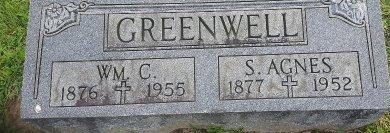 GREENWELL, S AGNES - Union County, Kentucky   S AGNES GREENWELL - Kentucky Gravestone Photos