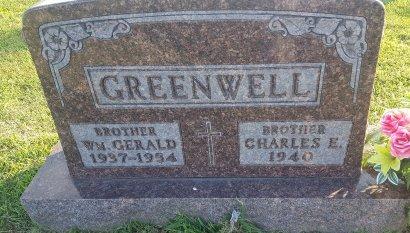 GREENWELL, WILLIAM GERALD - Union County, Kentucky | WILLIAM GERALD GREENWELL - Kentucky Gravestone Photos